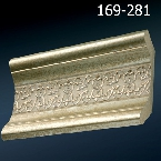 Decor-Dizayn 169-281 Карниз с орнаментом 2400х76х76мм