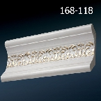 Decor-Dizayn 168-118 Карниз с орнаментом 2400х62х62мм