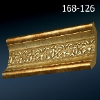 Decor-Dizayn 168-126 Карниз с орнаментом 2400х62х62мм