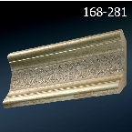 Decor-Dizayn 168-281 Карниз с орнаментом 2400х62х62мм