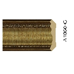 Decor-Dizayn A1060-G Карниз с орнаментом 2400х44х45мм