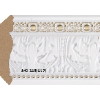 Decor-Dizayn 146-220(115) Карниз с орнаментом 2400х63х63мм