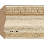 Decor-Dizayn 146-320(933) Карниз с орнаментом 2400х63х63мм