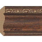Decor-Dizayn 146-620(1084) Карниз с орнаментом 2400х63х63мм