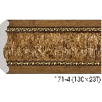 Decor-Dizayn 171-4 Карниз с орнаментом 2400х81х81мм