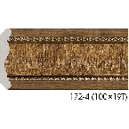 Decor-Dizayn 172-4 Карниз с орнаментом 2400х71х71мм
