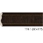 Decor-Dizayn 174-1 Карниз с орнаментом 2400х42х42мм
