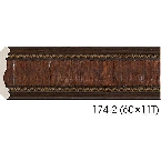 Decor-Dizayn 174-2 Карниз с орнаментом 2400х42х42мм