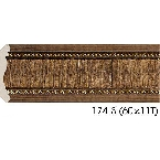 Decor-Dizayn 174-3 Карниз с орнаментом 2400х42х42мм