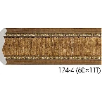 Decor-Dizayn 174-4 Карниз с орнаментом 2400х42х42мм