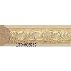 Decor-Dizayn 130-605(5) Молдинг с орнаментом 2400х15х8 мм