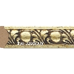 Decor-Dizayn 130-320(933) Молдинг с орнаментом 2400х15х8 мм