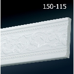 Decor-Dizayn 150-115 Молдинг с орнаментом 2400х79х12 мм