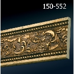 Decor-Dizayn 150-552 Молдинг с орнаментом 2400х79х12 мм