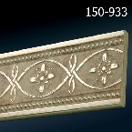 Decor-Dizayn 150-933 Молдинг с орнаментом 2400х79х12 мм