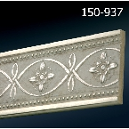 Decor-Dizayn 150-937 Молдинг с орнаментом 2400х79х12 мм