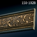 Decor-Dizayn 150-1028 Молдинг с орнаментом 2400х79х12 мм