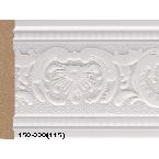 Decor-Dizayn 150-220(115) Молдинг с орнаментом 2400х79х12 мм