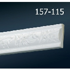 Decor-Dizayn 157-115 Молдинг с орнаментом 2400х30х13 мм