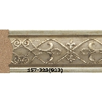 Decor-Dizayn 157-320(933) Молдинг с орнаментом 2400х30х14 мм