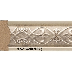 Decor-Dizayn 157-420(937) Молдинг с орнаментом 2400х30х14 мм