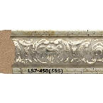 Decor-Dizayn 157-450(553) Молдинг с орнаментом 2400х30х14 мм