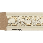 Decor-Dizayn 157-606 Молдинг с орнаментом 2400х30х14 мм
