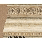 Decor-Dizayn 161-320(933) Молдинг с орнаментом 2400х60х22 мм