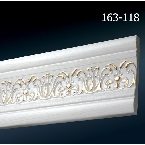 Decor-Dizayn 163-118 Молдинг с орнаментом 2400х90х12 мм