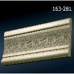 Decor-Dizayn 163-281 Молдинг с орнаментом 2400х90х12 мм