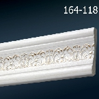 Decor-Dizayn 164-118 Молдинг с орнаментом 2400х59х11 мм