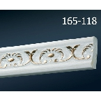 Decor-Dizayn 165-118 Молдинг с орнаментом 2400х30х10 мм