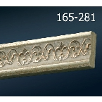 Decor-Dizayn 165-281 Молдинг с орнаментом 2400х30х10 мм