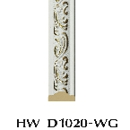 Decor-Dizayn D1020-WG Молдинг с орнаментом 2400х20х8мм