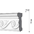 Gaudi Decor CR3004 Молдинг с орнаментом 244х13,9х3,6см