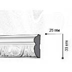 Gaudi Decor CR641 Молдинг с орнаментом 244х5,9х2,8см