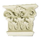 Лепнина Gaudi Decor PL578L/R Пилястра(капитель) 19х31,3х7,7см