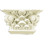 Лепнина Gaudi Decor PL561 Пилястра(капитель) 17,8х30,8х9см