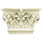 Лепнина Gaudi Decor PL554 Пилястра(капитель) 14,5х22,5х5см